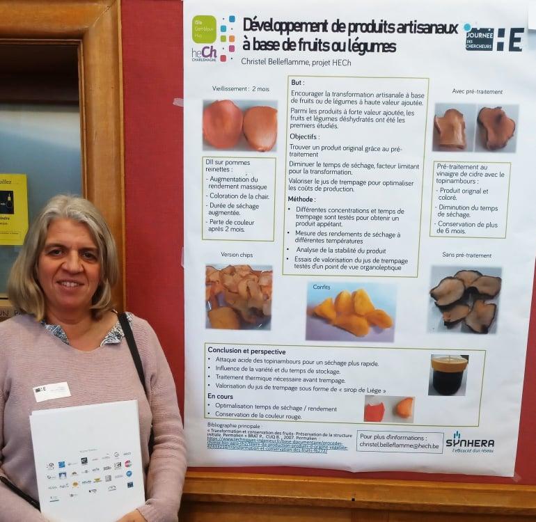 Développement de produits artisanaux à base de fruits ou légumes à l\'ISIa de Huy-Gembloux.