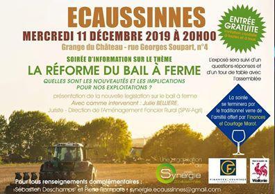La REFORME du BAIL à FERME à Ecaussinnes