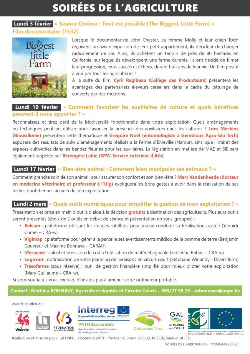 Séance Cinéma : Tout est possible (The Biggest Little Farm)
