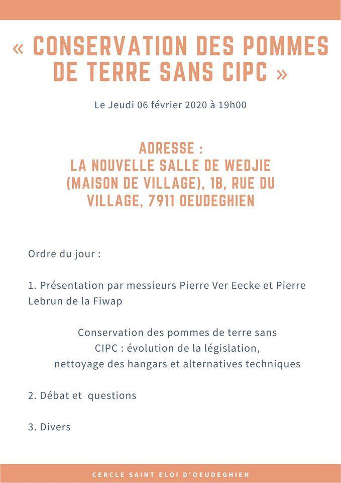 Conservation des pommes de terre sans CIPC