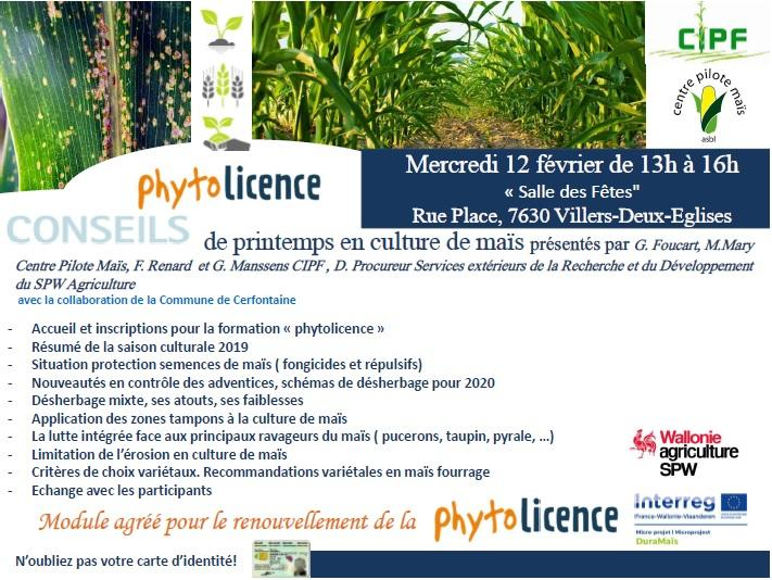 Formation PHYTOLICENCE \