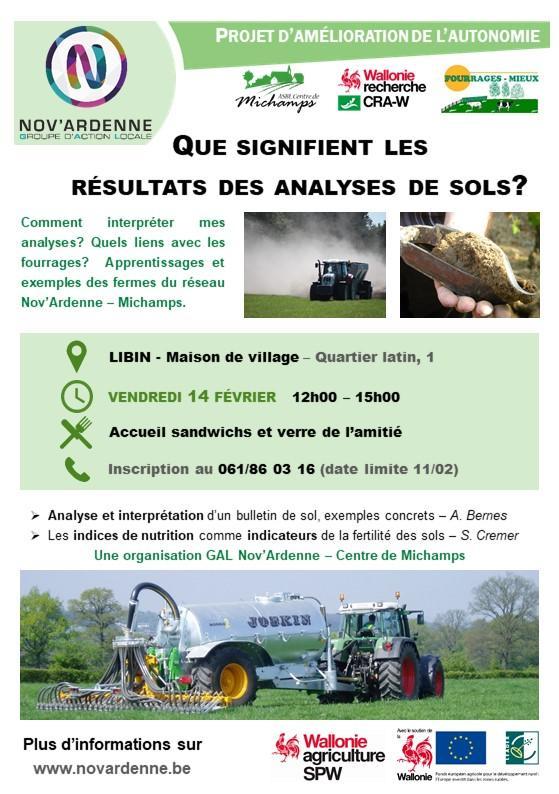 Formation sur la gestion des sols à Libin
