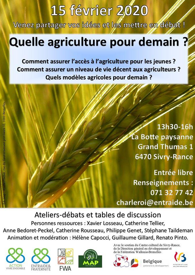 Ateliers-débats et tables de discussion \