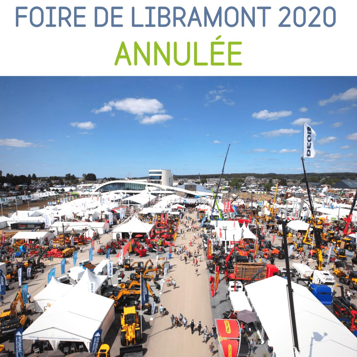 La Foire de Libramont 2020 est annulée