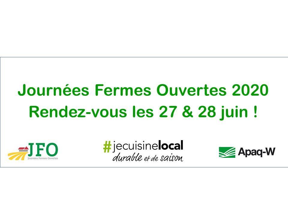 JOURNEES FERMES OUVERTES 2020 : appel aux candidatures