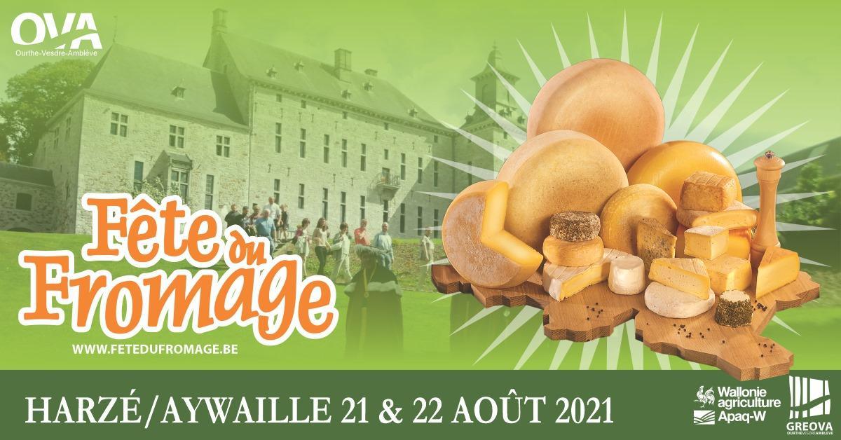 40 ans de Fête internationale du Fromage (21 et 22 août 2021)