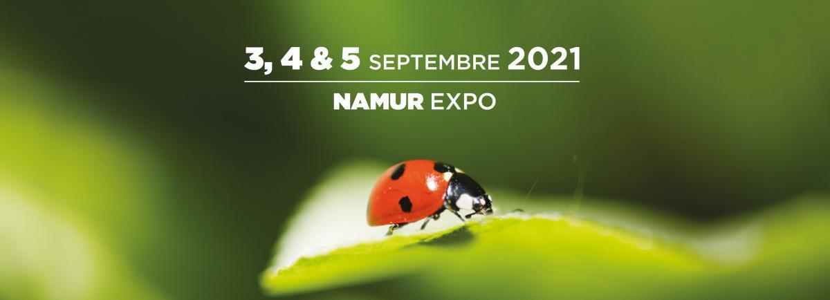 Salon Valériane  -  Le plus grand Salon BIO de Belgique du 3 au 5 septembre, Namur Expo