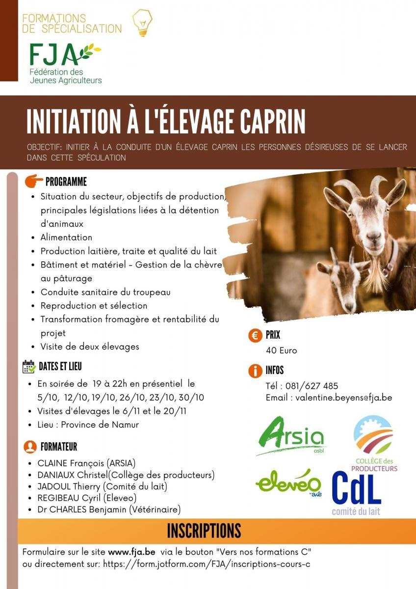 Envie d\'étendre vos connaissances sur l\'élevage caprin ?