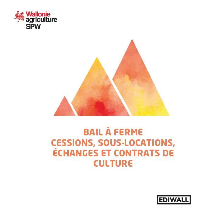 Brochure d'information sur les cessions de baux, les sous-locations, les échanges et contrats de culture