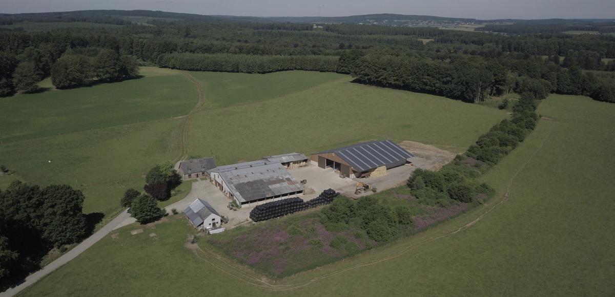 Visite de la ferme Louvigny à Bougnimont-Libramont