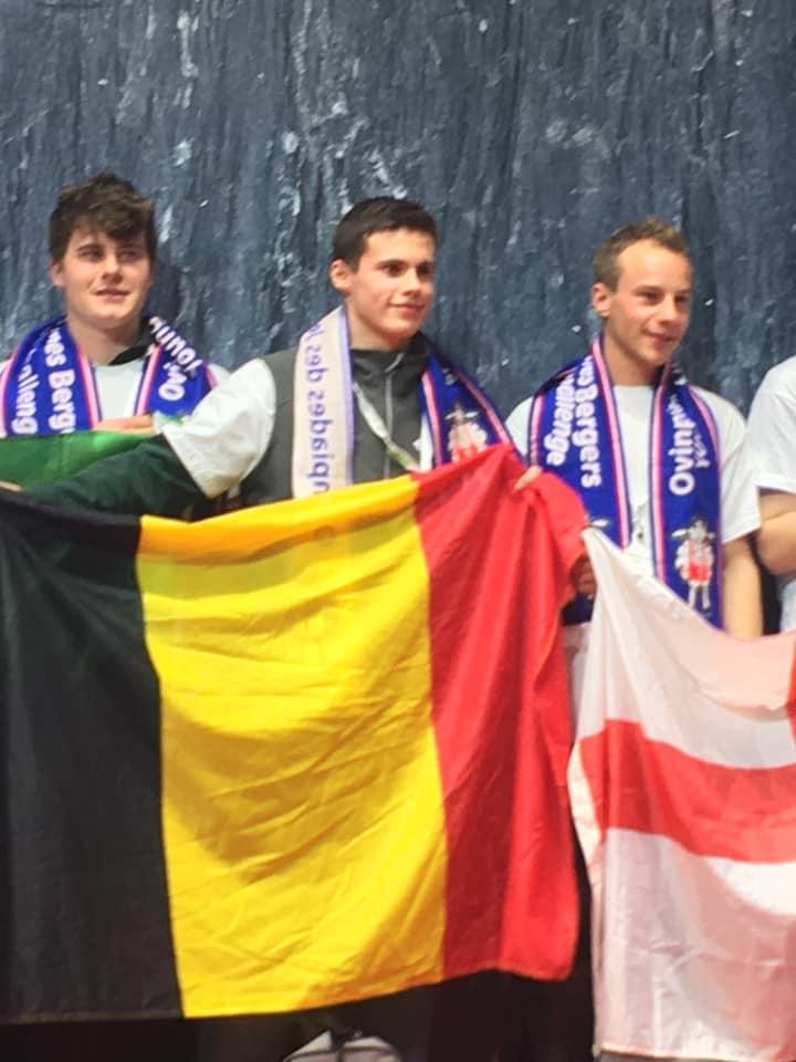 Le Meilleur Jeune Berger Européen est...... BELGE