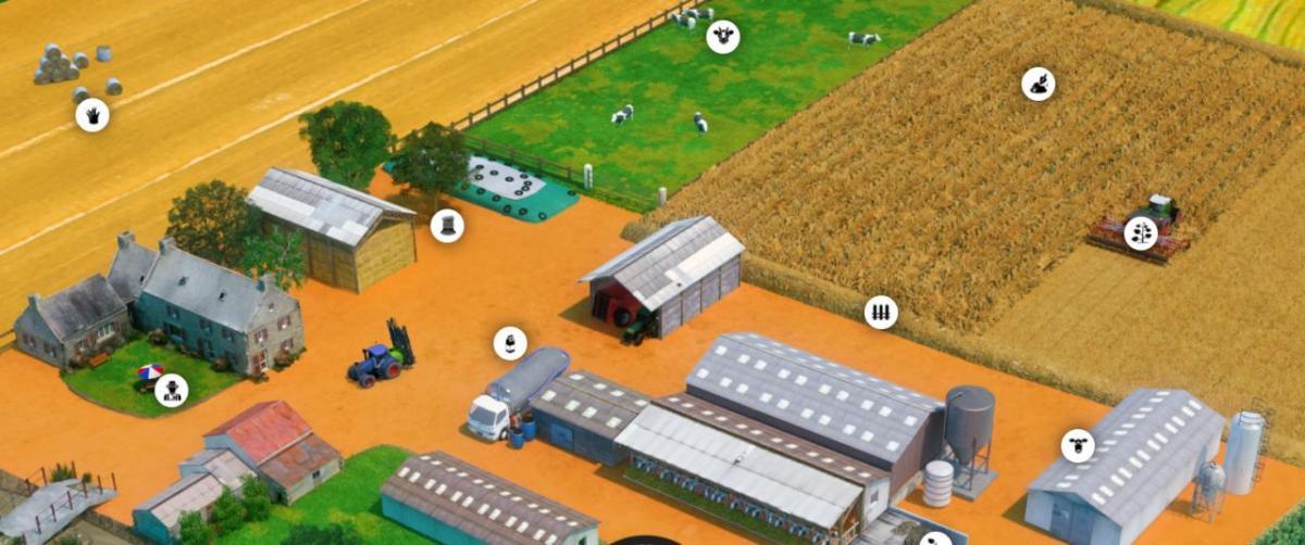 SEGAE (serious game in agroecology) : un jeu éducatif en ligne